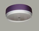 Lampa sufitowa fioletowa DOMAREX