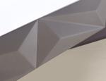 Fronty meblowe inspirowane diamentem. Nowoczesne aranżacje salonu