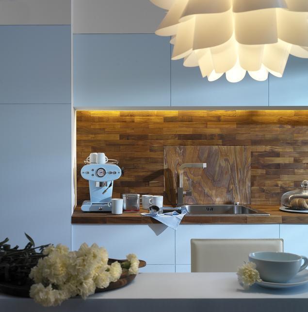 Zobacz galerię zdjęć Modne wnętrze Niebieska kuchnia  Stronywnętrza pl -> Niebieska Kuchnia Inspiracje