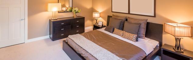 Wystrój sypialni w klasycznym stylu