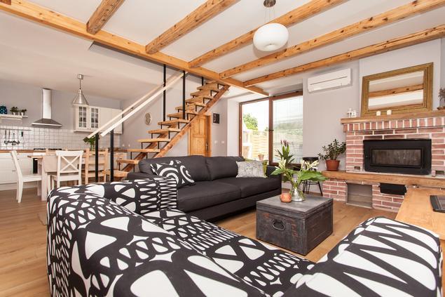 Pomysł na salon w stylu skandynawskim