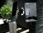 Nowoczesne lustra łazienkowe Geesa